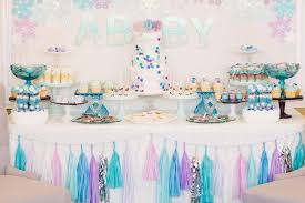 frozen party frozen birthday party by minted and vintage