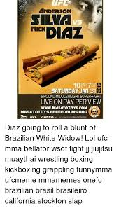 Anderson Silva Meme - anderson silva vs nick saturday jan 31h 5 round middleweight super