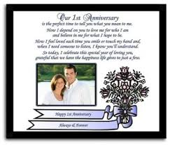 1st anniversary gifts for husband 1st anniversary gift for husband boyfriend or