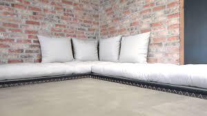 delamaison canapé canapé modulable et convertible avec futons et tatamis chico sofa