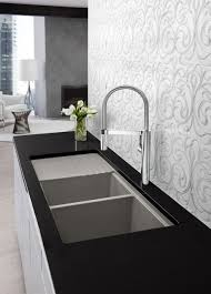 Designer Kitchen Faucet Kitchen Contemporary Kitchen Faucets All About Countertop Within