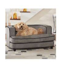 Dog Chaise Dog Sofa Bed Couch Cushion Elevated Gray Pet Cat Furniture Lounge