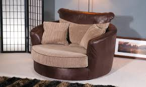 groupon goods global gmbh deal of the day groupon plush leather sofas round swivel cuddle chair