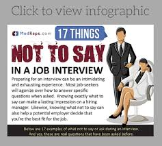 What To Say At 17 Things Not To Say In A Sales