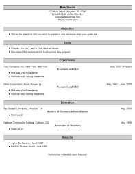 Sample Resume Usa by Resume Example 25 Free Resume Creator