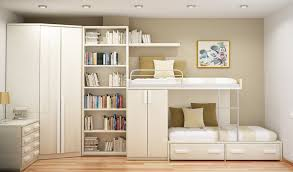 small bedroom storage ideas wooden loft bunk bed white wall decor interior bedroom corner wood bright wooden cushion floor