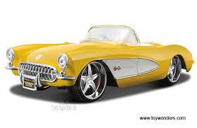 1957 chevrolet corvette convertible maisto pro rodz chevrolet corvette convertible 1957 1 18