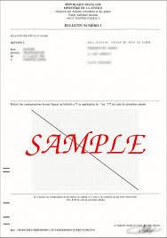 clearance certificate sample extrait de casier judiciaire character certificate from french
