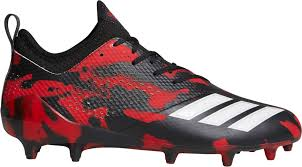 Black Red And Yellow Flag Football Cleats U0027s Sporting Goods