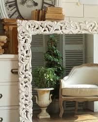 specchi con cornice specchio da parete con cornice legno shabby mobilia store home