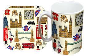selina jayne london limited edition designer mug and coaster gift set