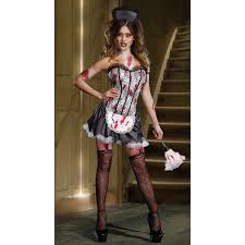 Black Wedding Dress Halloween Costume Compare Prices Women Horror Costumes Shopping Buy