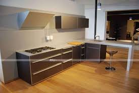 china home furniture champagne color customized made pvc kitchen