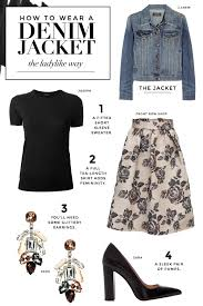 what to wear with a jean jacket stylecaster