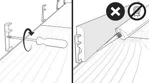 Fitting Laminate Flooring Under Skirting Boards Installation
