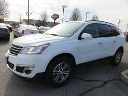chevrolet traverse blue 2017 used chevrolet traverse lt fwd new tires rear camera