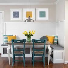 table cuisine banc banquette et table extensible dans la salle manger a newsindo co