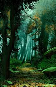 Wall Mural Mystical Pathway Peel 31 Best Enchanted Forest Project Wall Mural Background Ideas