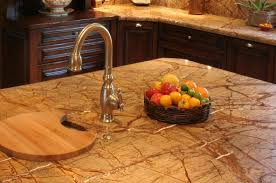 finkel rain forest brown granite counters custom cutting board