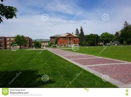 The Oval The Oval University Of Montana Stock Photo Image 72574828