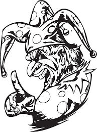 coloring pages of scary clowns clown coloring pages coloringsuite com