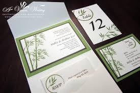 Wedding Invitation Folded Card Table Cards U2013 A Vibrant Wedding