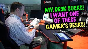 Custom Gaming Desks by My Desk U2026 I Want An Arozzi U201carena Gaming Desk U201d Bluntye3