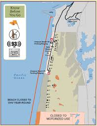 map of oregon dunes national recreation area siuslaw national forest umpqua sand cing