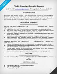 exle of resume cover letters flight attendant cover letter sle guide resume companion