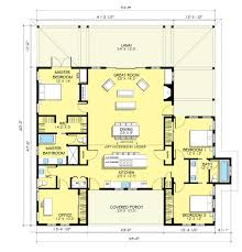 50 farm home plans with open floor plans farmhouse floor plan 5