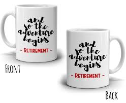 retirement gifts mug for retired men and women retirees a grand