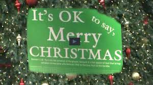 it s ok to say merry signs are popping up again this
