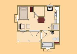 500 Sq Ft Floor Plans The El Capitan With A Fireplace Cozy Home Plans