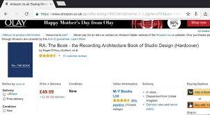 Home Recording Studio Design Book Ra The Book The Recording Architecture Book Of Studio Design
