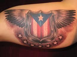 girly puerto rican flag tattoos puerto rican flag tattoo