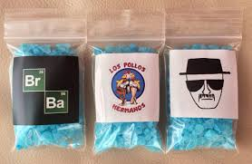 Rock Candy Adult - 1 bag of blue rock candy meth walter white jesse pinkman