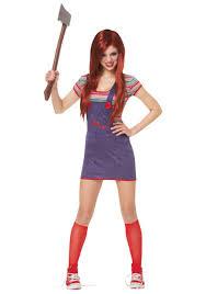 scary girl costumes sassy chucky costume sassy costumes