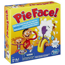 2017 sale pie face game board family toys rocket games fun