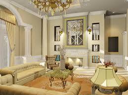 small sitting room gypsum house decor picture