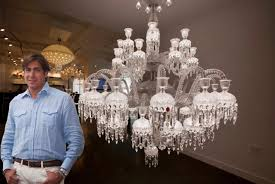New Chandelier Baccarat S 170 000 Chandelier Lands In Nyc Ny Daily News