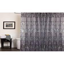 Silver Shower Curtains Popular Bath Sinatra Shower Curtain Walmart Com