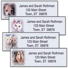 free humane society return address labels freebies in your mail