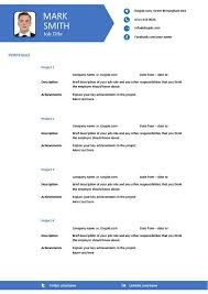 modern resume template 16 example