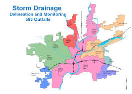 Map Dayton Ohio by Storm Water Management Program Dayton Oh