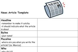 newspaper article template download free u0026 premium templates