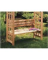 exclusive deals on benches with backs