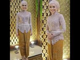 model baju kebaya muslim model baju kebaya muslim aka