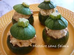 cuisiner des courgettes rondes recette courgettes rondes farcies au crabe 750g