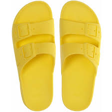 cacatoès yellow summer shoes authentic and original made in brazil