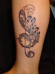 small music notes symbol on wrist tattoos designs tattoo design